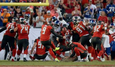 Tampa Bay Buccaneers' Bruce Arians gives bizarre reason for taking late-game penalty before missed field goal