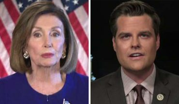Matt Gaetz says Pelosi 'embarrassed' House of Representatives, 'undermined solemn duty of impeachment'