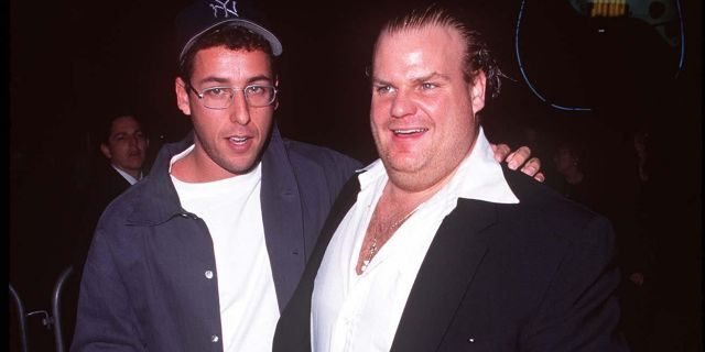 Adam Sandler and Chris Farley were mentioned by name during Lorne Michaels' 2019 Emmy acceptance speech.