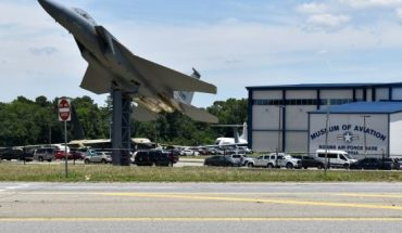 """The Museum of Aviation at Robins Air Force Base, Georgia.<br data-cke-eol=""""1""""> (U.S. Air Force photo by Shellie-Anne Espinosa)"""