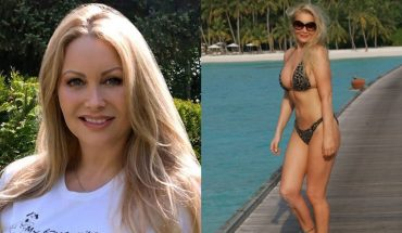 Vegan woman, 48, credits diet for youthful looks
