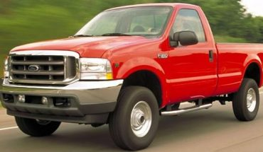 Saavedra allegedly stole an F-350 similar to this one.