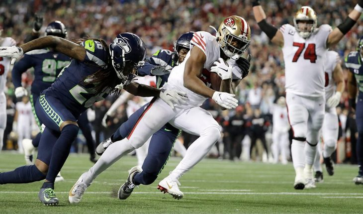 49ers win NFC West title thanks to heroic stop at 1-yard line against Seahawks