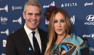 Andy Cohen and Sarah Jessica Parker attend the 30th Annual GLAAD Media Awards New York at New York Hilton Midtown on May 04, 2019 in New York City.