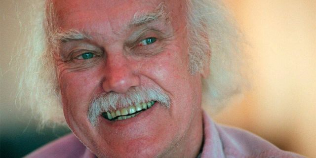 Ram Dass in 1998. (AP Photo/Susan Ragan, File)