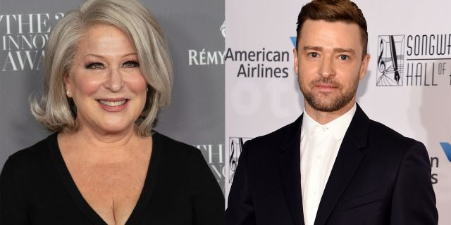 "Bette Midler called out Justin Timberlake on Twitter on Monday, asking when is ""Janet Jackson's boob"" going to get an apology."