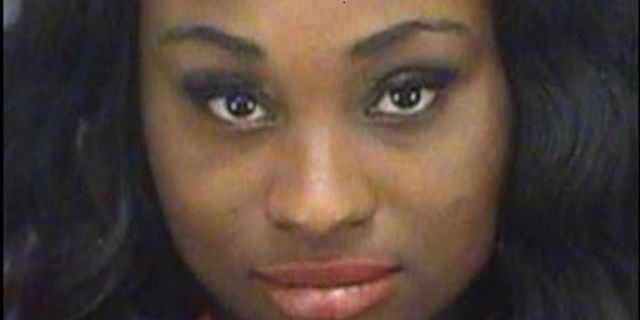 Tania D. Sherrod, 18, of St. Petersburg, Fla., was arrested on Dec. 4 for a Nov. 19 incident in which she is charged with stabbing her boyfriend multiple times as he lay in a hospital bed. (Pinellas County Jail)