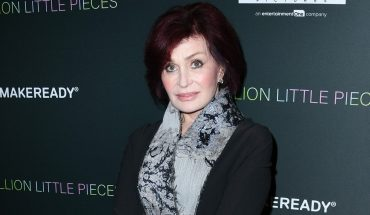 Sharon Osbourne says she sent an assistant into a burning building to retrieve artwork, then fired him