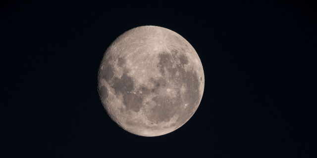 The crew aboard the International Space Station took this image of a full moon on Aug <a class=