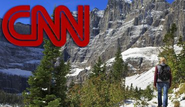 CNN pushes climate change in report on park removing signs saying glaciers would disappear by 2020