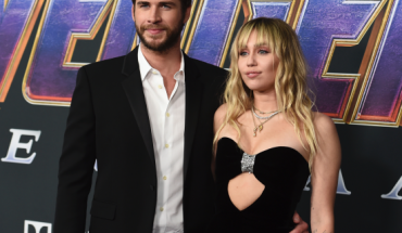 """FILE - In this Monday, April 22, 2019, file photo, Liam Hemsworth and Miley Cyrus arrive at the premiere of """"Avengers: Endgame"""" at the Los Angeles Convention Center."""
