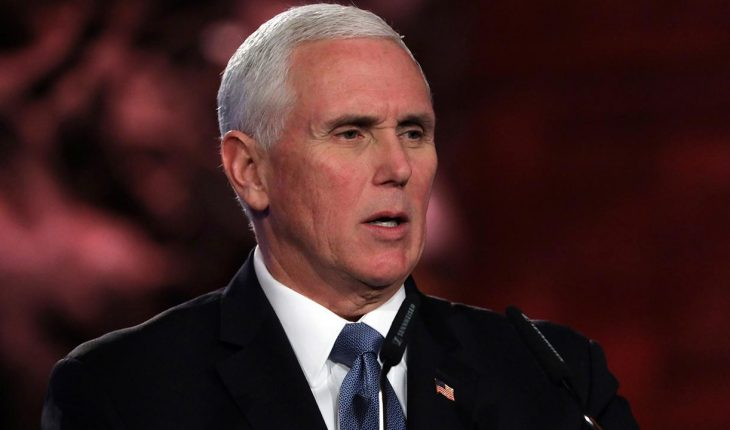 Pence calls for world to 'stand strong' against anti-Semitism at Auschwitz liberation commemoration in Israel