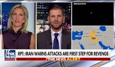 Eric Trump blasts Democrats for 'ironic' claims of president using Iran as 'distraction' from impeachment