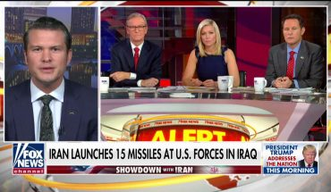 Hegseth: Iran should come back to the table 'limping and begging, not seething'