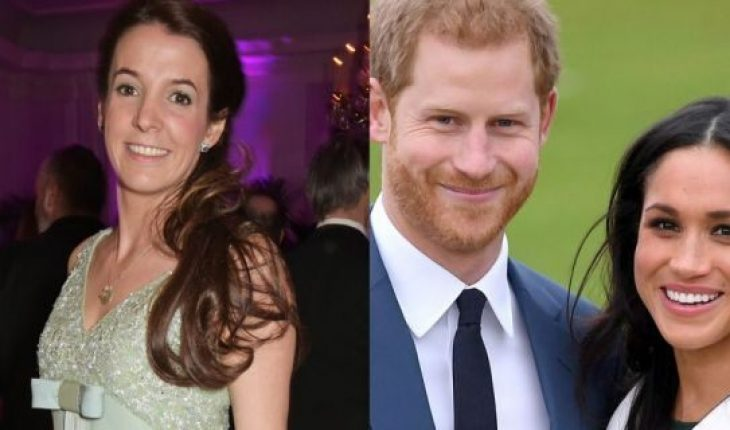 Former Princess of Luxembourg Tessy Antony, Prince Harry and Meghan Markle