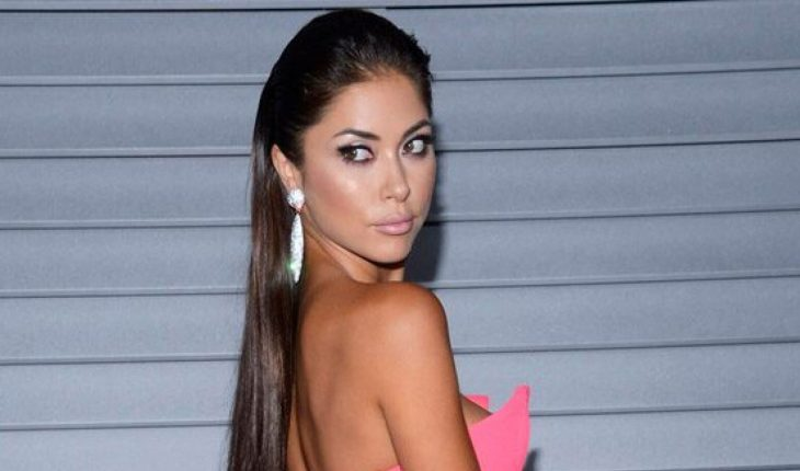 UFC ring girl Arianny Celeste sizzles in tiny bikini in Mexico