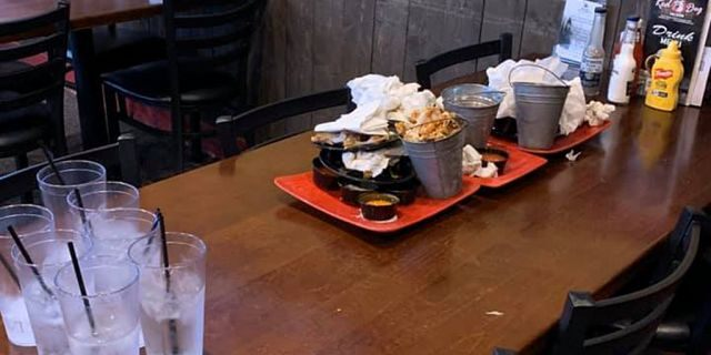 """Though the future remains uncertain, one Michigan waitress says her """"faith"""" in today's has been restored after a surprisingly heartwarming encounter with a group of young customers."""
