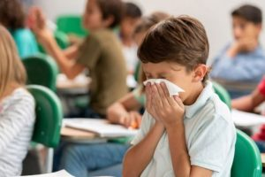 Adenoviruses can result in colds, bronchitis, respiratory infections, croup (barking cough), ear infections, pink eye, pneumonia, stomach infections, UTIs, and in rare cases, meningitis.