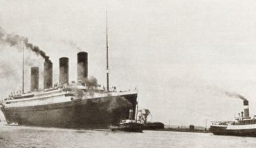 RMS Titanic passenger liner of the White Star Line. From The Story of 25 Eventful Years in Pictures, published 1935.
