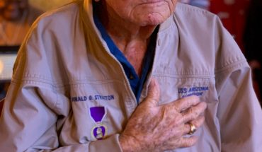 Donald Stratton, Pearl Harbor survivor who fought for recognition of hero sailor, dead at 97