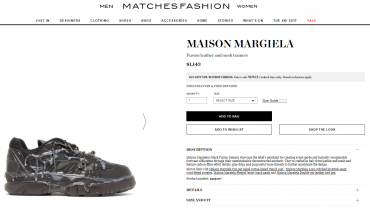 Maison Margiela sneakers with hot candle wax design draw reactions: 'What in the hot glue gun?'