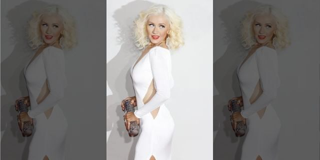Christina Aguilera at the 2013 American Music Awards <a class=