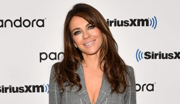 Elizabeth Hurley, 54, claims she's 'much too old' to wear a bikini to the beach