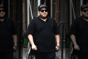Jonah Hill in 2015. (Photo by Raymond Hall/GC Images via Getty)