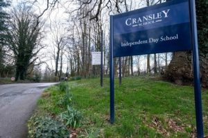 Cransley School in Northwich, England.