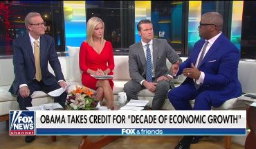 Charles Payne on Obama taking credit for decade of economic growth: 'It's so nonsensical'