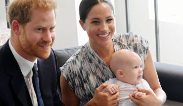 Prince Harry, Duke of Sussex, Meghan, Duchess of Sussex and their baby son Archie during their royal tour of South Africa on September 25, 2019 in Cape Town, South Africa.