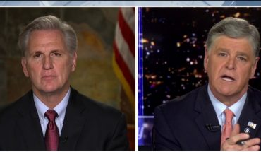 McCarthy pans California gov's 'stay at home' order: 'I hope he consulted with a lot of experts'
