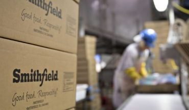 """The president and CEO of Smithfield Foods said the closure of its Sioux Falls plant (not pictured), along with the temporary shuttering of other meat-processing plants, """"is pushing our country perilously close to the edge in terms of our meat supply."""""""